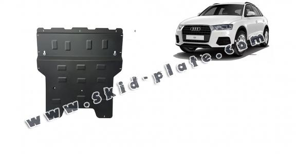 Steel skid plate for Audi Q3