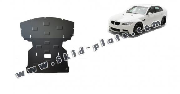 Steel skid plate for BMW Seria 3 E90/91