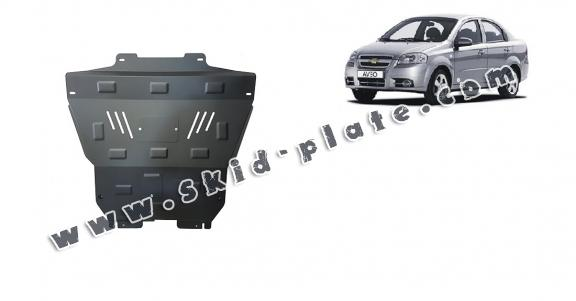 Steel skid plate for Chevrolet Aveo