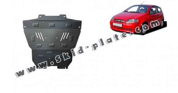 Steel skid plate for Chevrolet Kalos