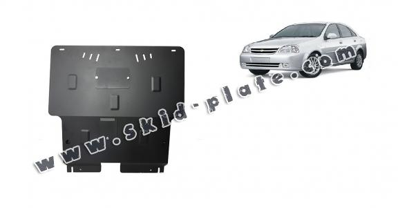 Steel skid plate for Chevrolet Lacetti