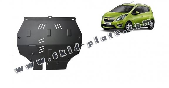 Steel skid plate for Chevrolet Spark