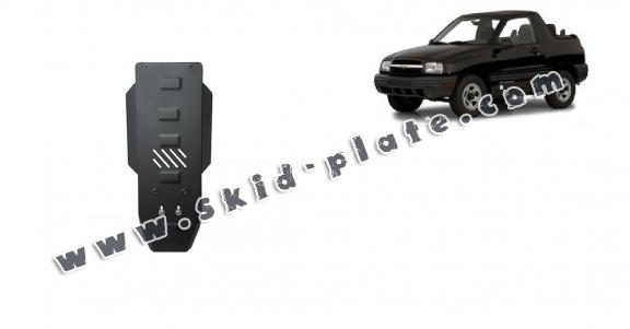 Steel gearbox skid plate for Chevrolet Tracker