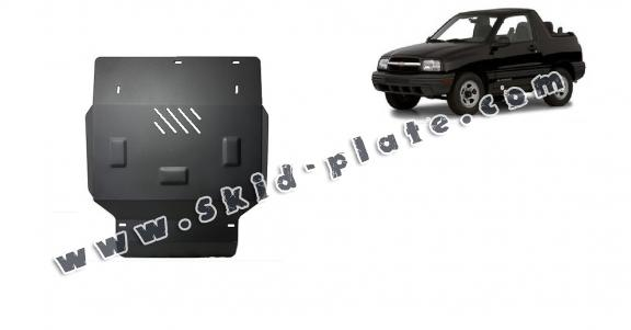 Steel skid plate for Chevrolet Tracker