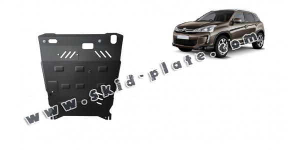 Steel skid plate for Citroen Aircross