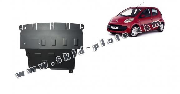 Steel skid plate for Citroen C 1