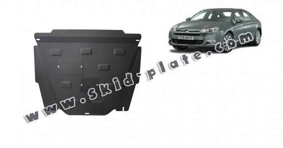 Steel skid plate for Citroen C5