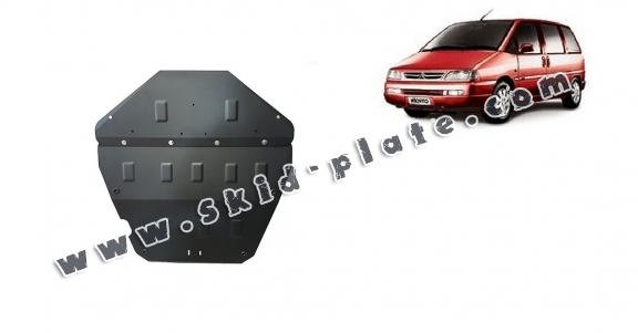 Steel skid plate for Citroen Evasion