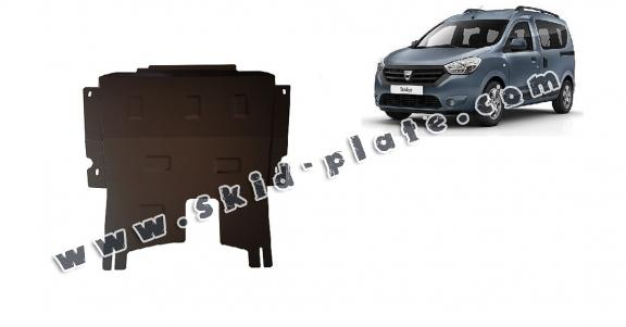 Steel skid plate for Dacia Dokker