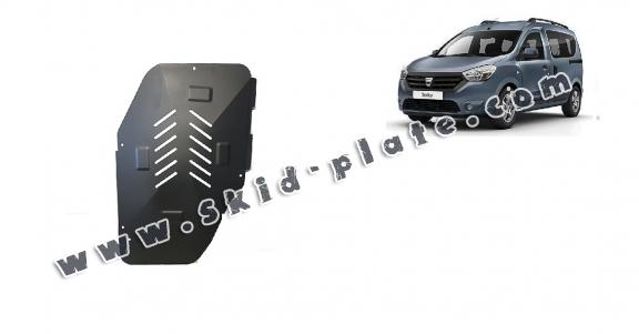 Steel fuel tank skid plate  for Dacia Dokker