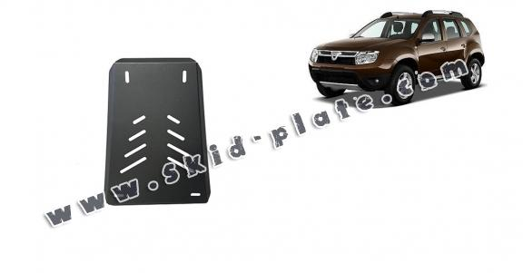 Steel diferential skid plate for Dacia Duster 4x4