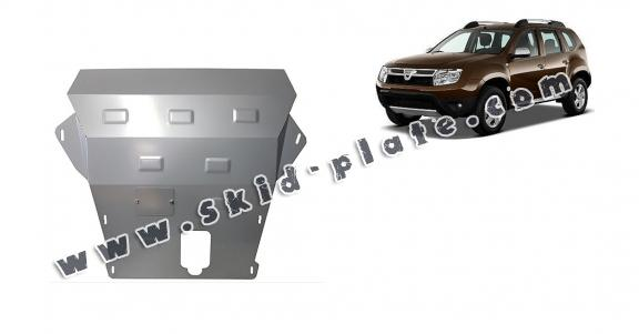 Steel skid plate for Dacia Duster - 2,5 mm