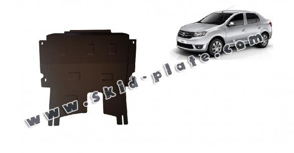 Steel skid plate for Dacia Logan 2