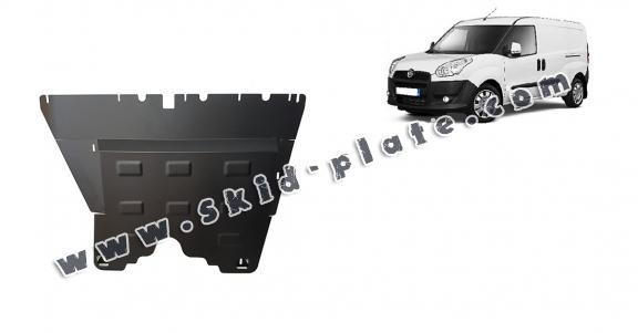 Steel skid plate for Fiat Doblo