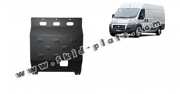 Steel skid plate for Fiat Ducato
