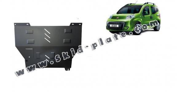 Steel skid plate for Fiat Fiorino