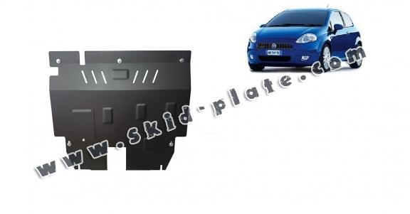 Steel skid plate for Fiat Grande Punto