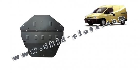 Steel skid plate for Fiat Scudo