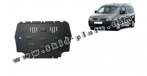 Steel skid plate for VW Caddy