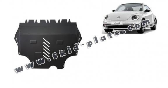 Steel skid plate for Volkswagen New Beetle