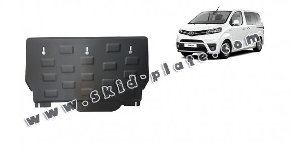 Steel skid plate for Toyota Proace Panel Van