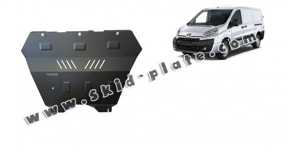 Steel skid plate for Toyota Proace