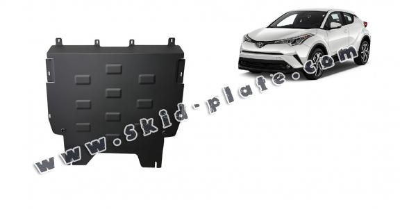 Steel skid plate for Toyota C-HR