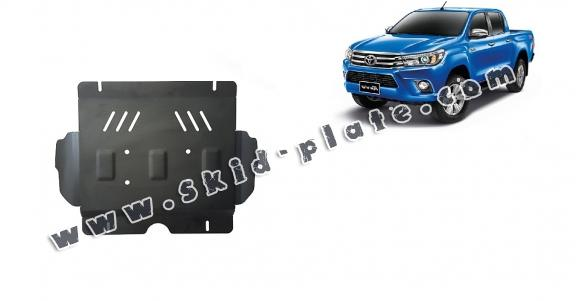 Steel skid plate for Toyota Hilux Revo