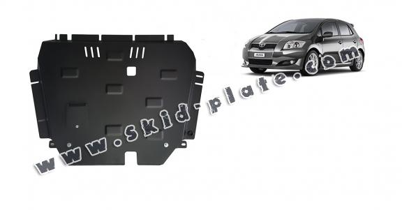 Steel skid plate for Toyota Auris