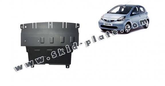 Steel skid plate for Toyota Aygo AB10