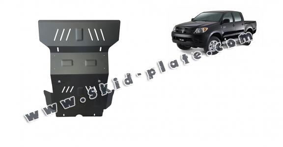 Steel skid plate for Toyota Hilux