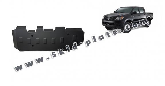 Steel fuel tank skid plate  for Toyota Hilux