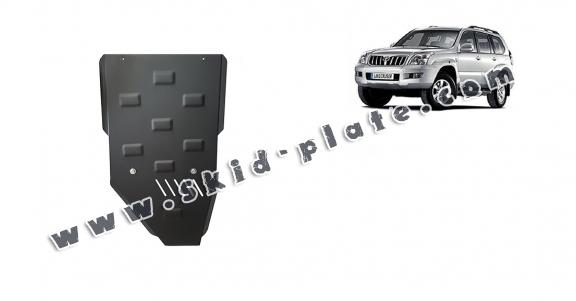 Steel gearbox skid plate for Toyota Land Cruiser J120