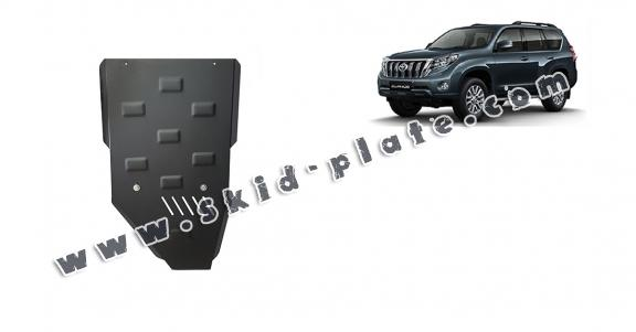 Steel gearbox skid plate for Toyota Land Cruiser 150