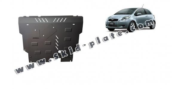 Steel skid plate for Toyota Yaris - diesel