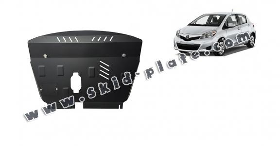 Steel skid plate for Toyota Yaris