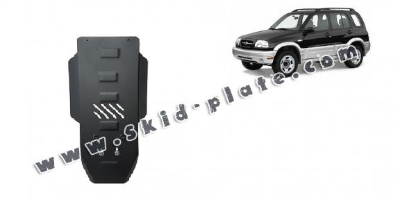 Steel gearbox skid plate for Suzuki Grand Vitara
