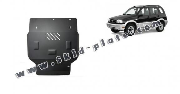 Steel skid plate for Suzuki Grand Vitara