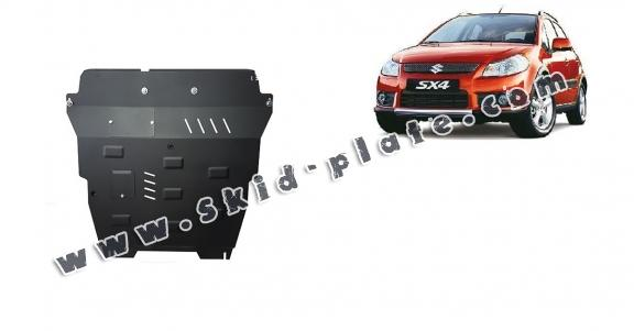 Steel skid plate for Suzuki SX 4