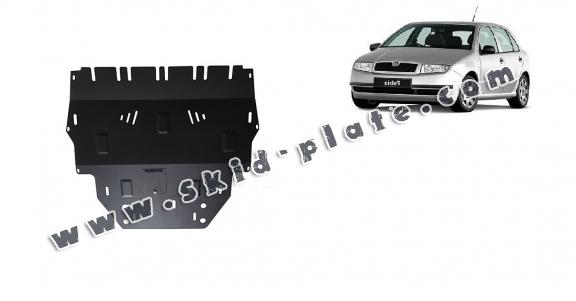Steel skid plate for Skoda Fabia Diesel
