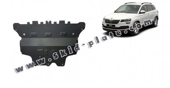Steel skid plate for Skoda Karoq - manual gearbox