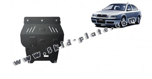 Steel skid plate for Skoda Octavia 1