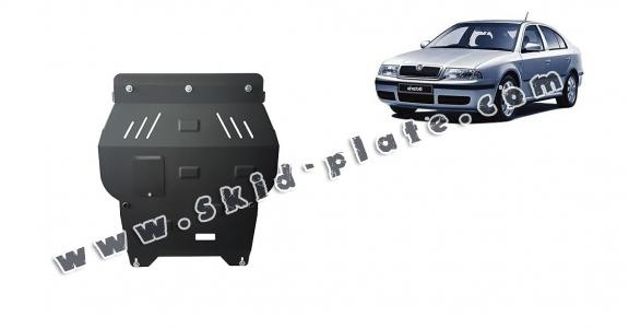 Steel skid plate for Skoda Octavia Tour