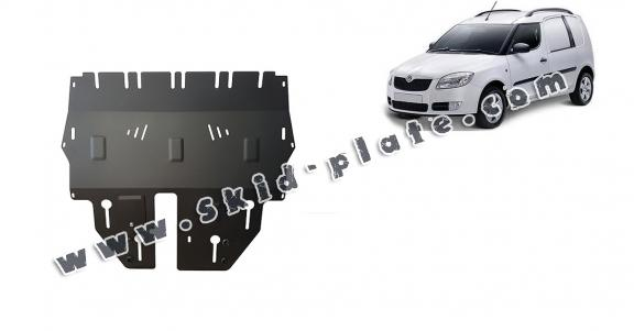Steel skid plate for Skoda Praktik