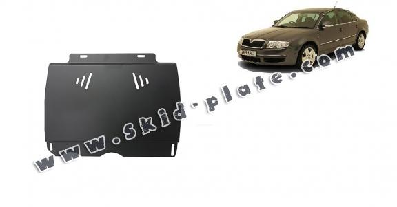 Steel manual gearbox skid plate  Skoda Superb