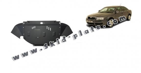 Steel skid plate for Skoda Superb - 1,8  1,9 TDI