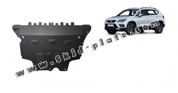 Steel skid plate for Seat Ateca