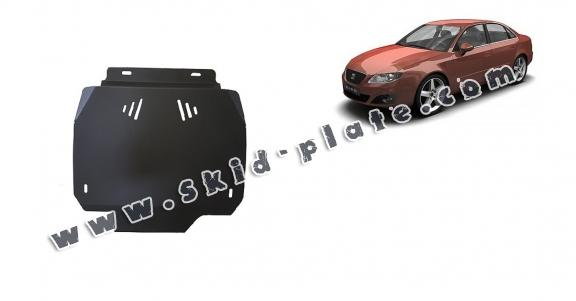 Steel automatic gearbox skid plate forSeat Exeo