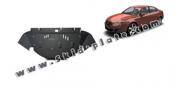 Steel skid plate for Seat Exeo
