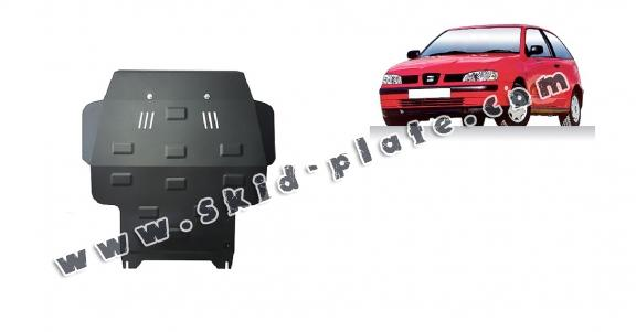 Steel skid plate for Seat Ibiza